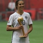 Carli Lloyd becomes Captain America for US women