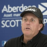 Mickelson refuses to comment on money-laundering allegations