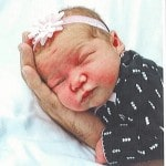 Cliftons announce birth of a daughter