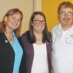 Kiwanians attend district banquet
