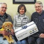 Locals partner for assistance dog