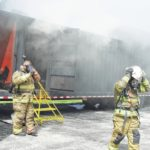 Firefighters train for flashover