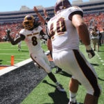 Officials who botched end of Oklahoma State game suspended