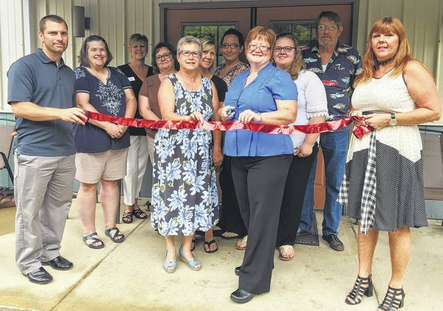 The Book Farm in Blanchester celebrated with a ribbon-cutting this week.