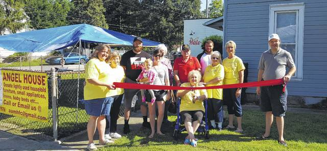 A Wilmington-Clinton County Chamber of Commerce ribbon-cutting was part of the Angel Fun Day Fundraiser Saturday.