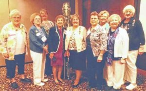 Colonial Dames at state workshop