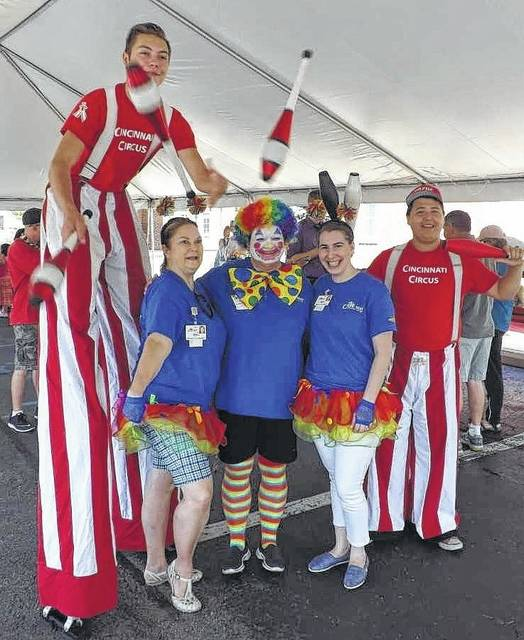 Everything from train rides to jugglers to a great variety of food will be featured at the annual carnival at Ohio Living Cape May.