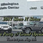 Party before Jeep Jam at Wilmington Auto Center