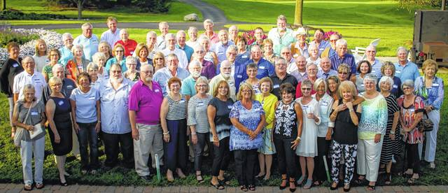 The Wilmington High School Class of 1967 met and shared memories.
