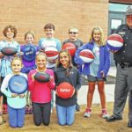 D.A.R.E. donates playground items to Clinton-Massie, East Clinton