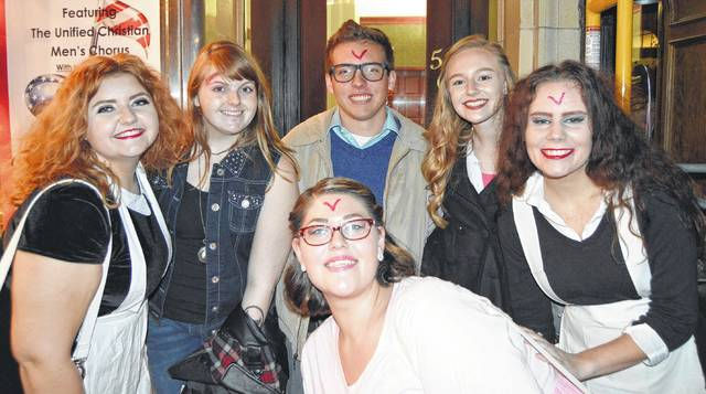 Last year the Murphy Theatre's annual showing of The Rocky Horror Picture Show was Friday night (and into Saturday morning). The enthusiastic crowd even danced the Time Warp on Main Street prior to the show.