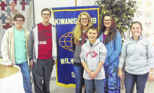 The servers from East Clinton and Clinton-Massie high schools' Key Clubs were Clinton-Massie's Luke Campbell and Ryan Miller and East Clinton's Marah Dunn, Jaiden Alloy, Austin Alloy and Desaray Covault.