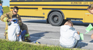 Maturity of 8th-graders praised after 2 Wilmington school buses have acccident