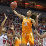 Nared adjusting to leadership role for No. 14 Lady Vols