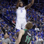 Big second half lifts No. 5 Kentucky past Utah Valley 73-63