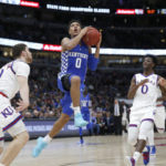 Mykhailiuk's 17 lead No. 4 Kansas past No. 7 Kentucky 65-61