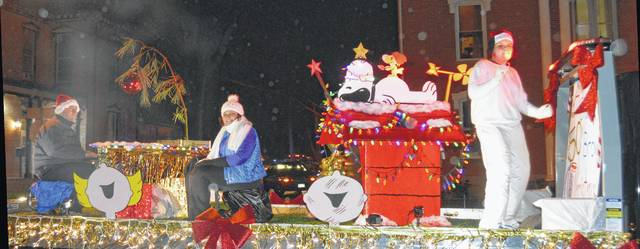 Last year's HomeTown HoliDazzle parade — as well as the many other family activities downtown — truly dazzled those who attended.
