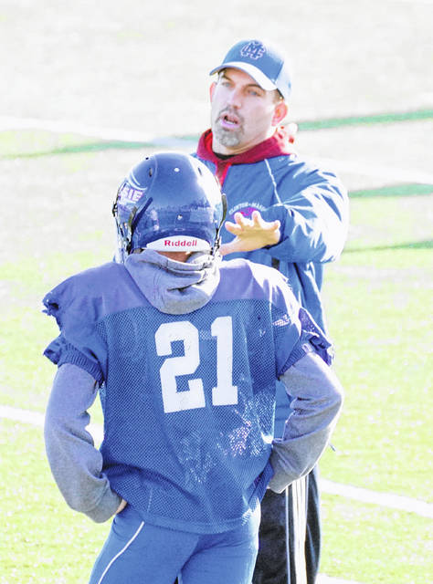 Scott Rolf is in his second stint as the defensive coordinator for the Clinton-Massie football team.