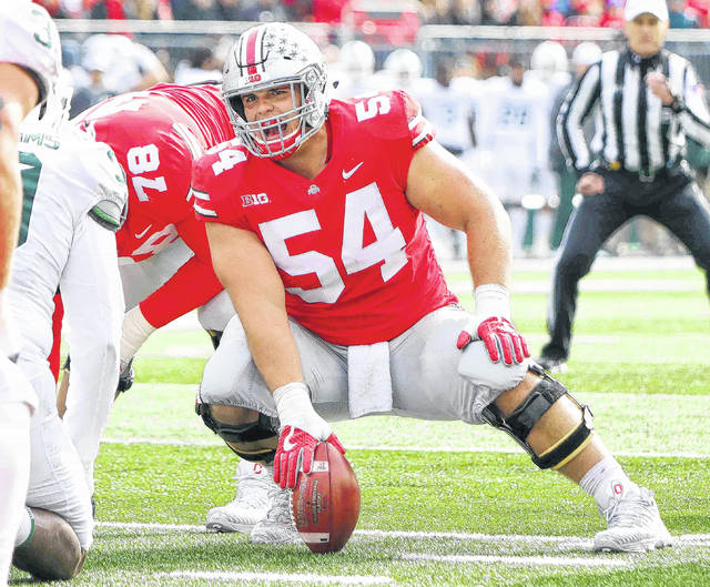 Billy Price, a first-team All-Big Ten selection and a first-team All-American on the American Football Coaches Association team last season, broke the Ohio State record for consecutive starts on Saturday with his 51st start in a row.