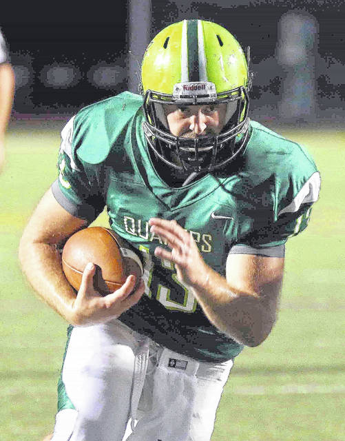 Luke Creditt is one of the seniors who will be playing in the final home game of their Wilmington College football careers Saturday against Ohio Northern. Kickoff is set for 1:30 p.m.