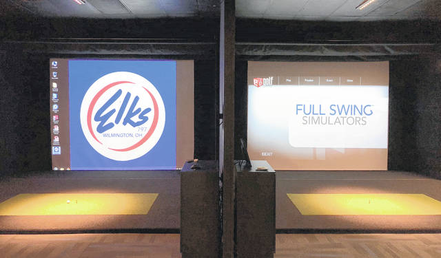 The Elks Lodge 797 purchased two new golf simulators, which will be open to the public beginning Monday.