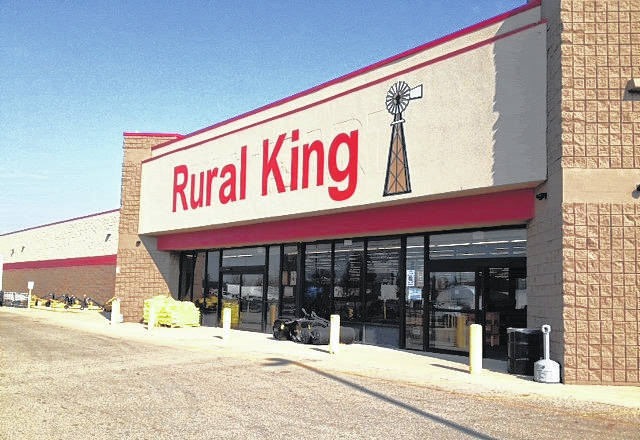 Shown is a Rural King store located in Xenia, Ohio. A Rural King spokesman confirmed Friday that the company is interested in locating a store in Hillsboro in the current Kmart facility, since Kmart announced it is closing at the end of January 2018.