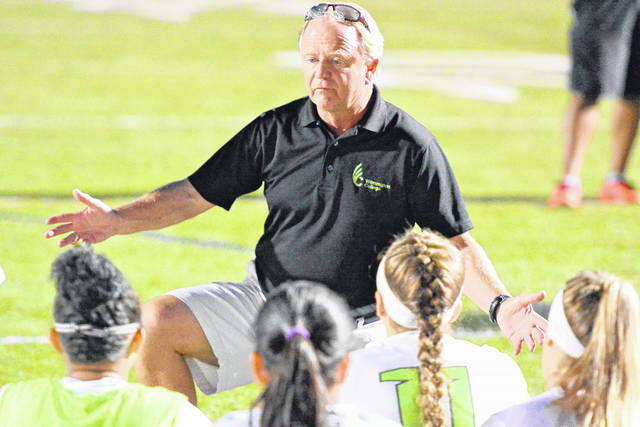 Wilmington College women's soccer coach Steve Spirk notched the 300th win of his career over Muskingum recently.