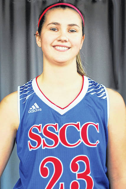 Southern Ste Community College sophomore Natasha Barr scored the 1,000th point of her collegiate career in the Lady Patriots 81-69 win over Hocking College on Nov. 17. Barr's milestone point came with 7:34 to play in the first quarter. She becomes the eighth player and just the third female to score 1,000 points for Southern State Community College, coach Matt Wells said. Barr finished the game with 26 points and 10 rebounds.