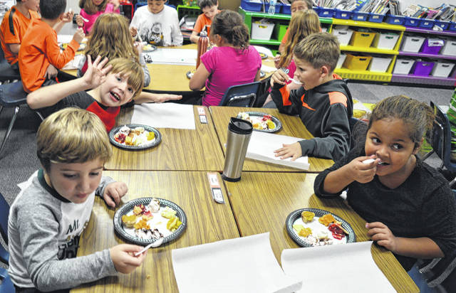 Denver Place Elementary was the place to be Tuesday afternoon for a chance to taste a variety of pies.