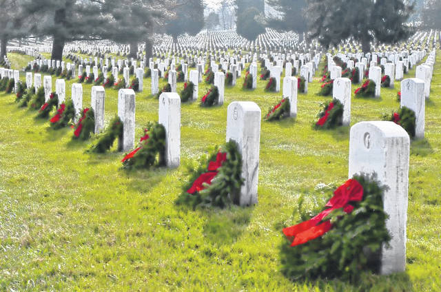 The public can sponsor wreaths at Arlington National Cemetery.