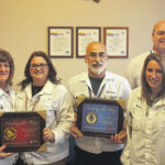Ahresty blood donors recognized