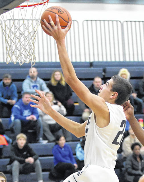 Brayden Sipple had 24 points, nine rebounds and four assists Tuesday in Blanchester's win over Felicity-Franklin in SBAAC National Division action.