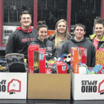 EC FFA collects Toys for Tots