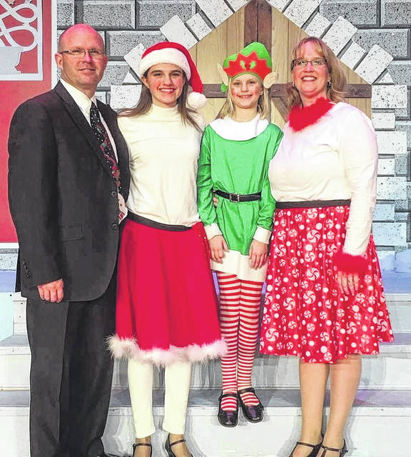 The Murphy Christmas show is an annual event — including for the Riley family.