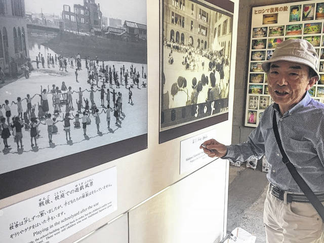 Honkawa Elementary School and Museum, Hiroshima: A survivor, who was young at the time of the bombing, shares his story and the story of the 400 schoolchildren and teachers that died in the bombing.