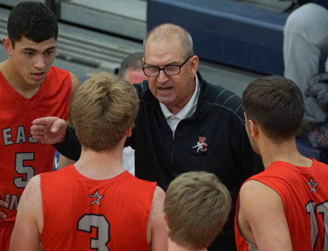 East Clinton head coach Tony Berlin said his Astros are making progress following a 76-49 win over Bethel-Tate Tuesday night.