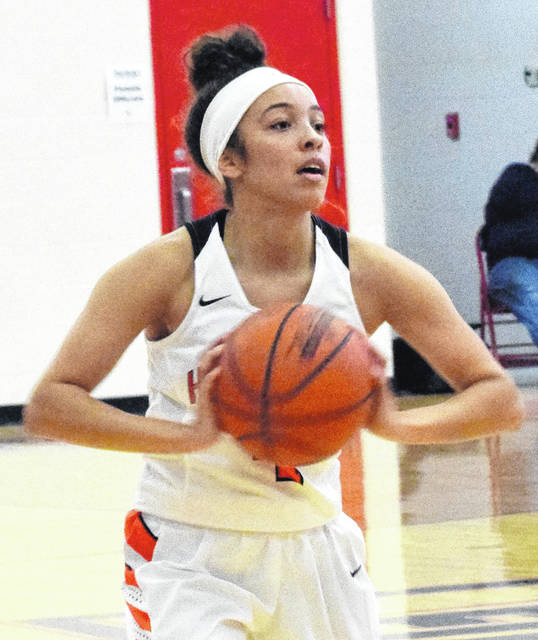 Jasmine Jamiel scored seven points, played well on defense and kick-started the WHS offense in Saturday's 64-30 win over Chillicothe.