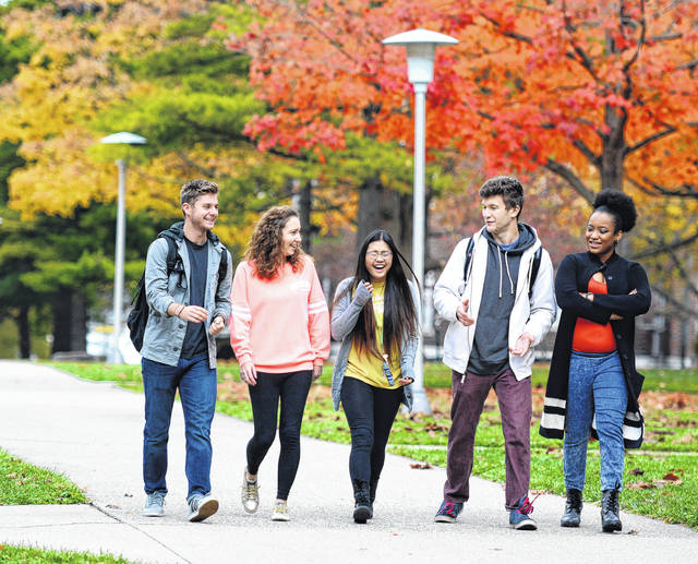 Students — present and future — are the greatest beneficiaries of Wilmington College's record fundraising campaign.