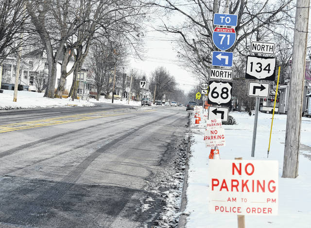 An ordinance to create a no-parking zone on North South Street was to be presented to Wilmington City Council during Thursday night's meeting. The zone would go from the east of North South Street from the intersection of Lorish Avenue, continuing 288 feet south.