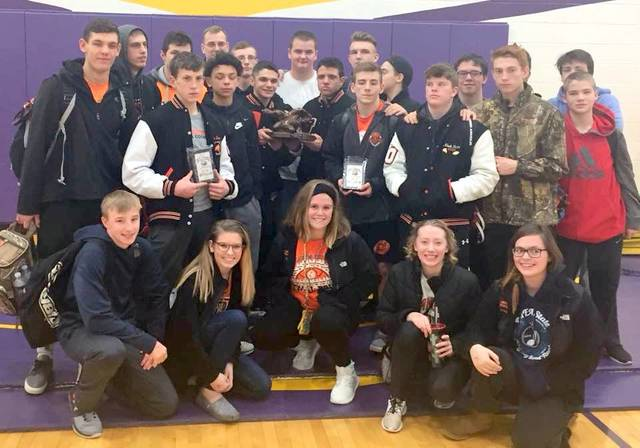 The Wilmington High School wrestling team finished second Saturday at the Bellbrook Invitational.