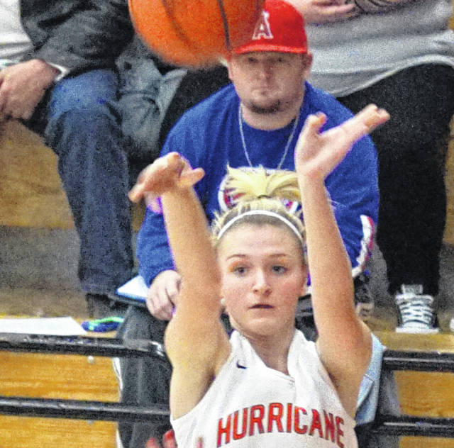 Bailey Zerby had 21 points in Wilmington's 46-24 win over Goshen Thursday night.