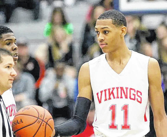 Darius Bazley of Cincinnati Princeton will be one of the highlights of the Scholastic Play By Play Classic basketball event at Wilmington High School Saturday night.