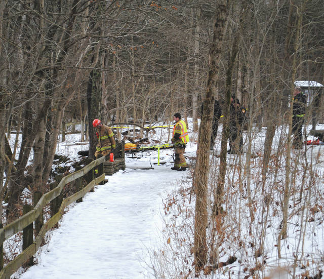 A body was spotted by a hiker in Clifton Gorge State Nature Preserve Jan. 9. Officials were uncertain whether it was an accident, suicide or case of foul play.