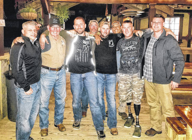 Veterans and area residents and volunteers participated in many activities prior to Saturday night's Joe Diffie concert as part of the Operation Cherrybend and Flight Deck Veterans Group annual week of events.