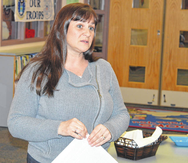 East Clinton High School Principal Kerri Matheny recommends increasing the school's required credits for graduation.