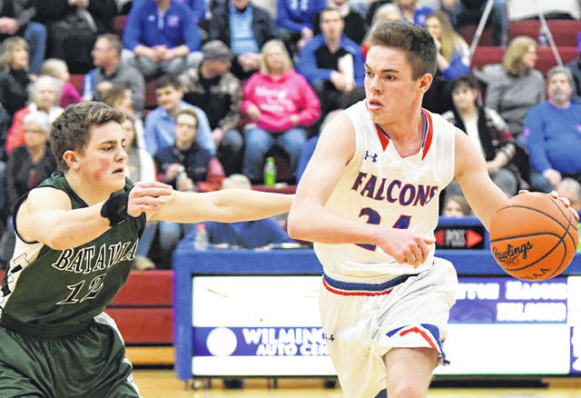 Griffin Laake had 12 points, five rebounds and three assists Friday night in a 62-58 loss to Batavia.