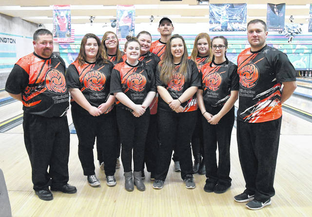 The Wilmington High School girls bowling team won the SBAAC championship Saturday at Royal Z Lanes.