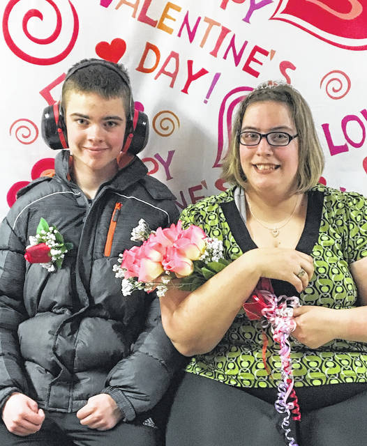The Clinton County Board of Developmental Disabilities held on Feb. 15 its annual Valentine's Dance. Jonah Ayers and Rebecca Brewer were crowned the 2018 King and Queen. Those in attendance enjoyed a fun evening, and danced to the music of DJ Tim Root.
