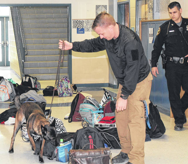 No illegal narcotics were found during a K-9 search of Blanchester High School.