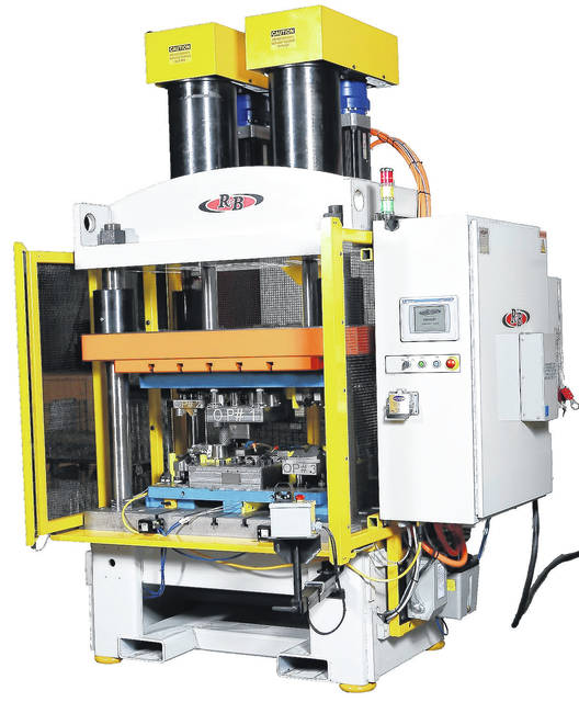R&B Machining's new line includes four standard models including 15, 30, 50 and 100 ton capacities.